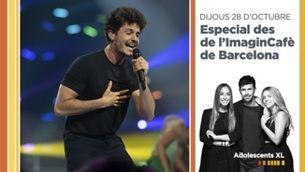"""""""Adolescents XL"""" es trasllada a l'ImaginCafè  amb públic i entrevista Miki Núñez"""