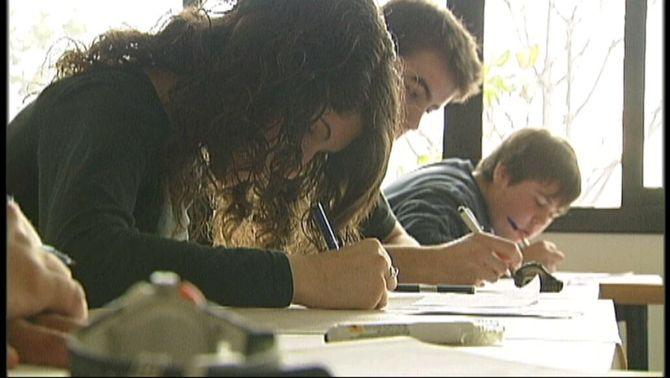 Estudiants a l'aula