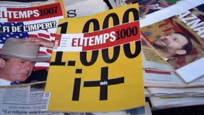 """Exemplars de la revista """"El Temps"""""""