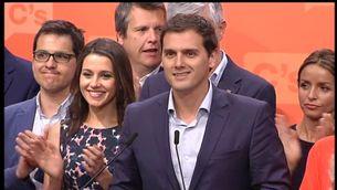 Albert Rivera ha comparegut a Madrid amb Inés Arrimadas