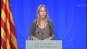 La portaveu del govern, Neus Munté, en una imatge d'arxiu