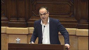 """Turull: """"Cap amenaça de la fiscalia, ni les del Constitucional, ni les de les """"clavegueres"""" de l'Estat, aturaran el procés"""""""