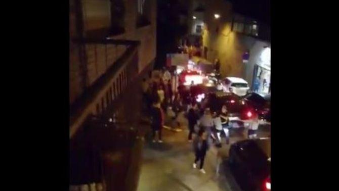 Una persona agredida després d'una manifestació per la unitat d'Espanya a Mataró