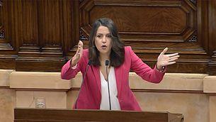 Inés Arrimadas al Parlament