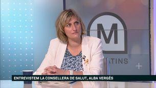 """Alba Vergés: """"Busquem alternatives al contracte amb la filial de Ferrovial"""""""