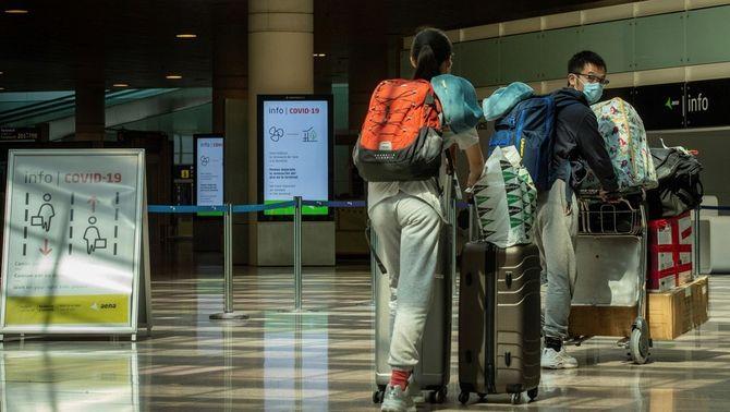 1.900 vols menys al Prat: l'inici d'un agost insòlit amb el turisme sota mínims