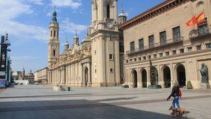 Les ciutats de Saragossa, Osca i Terol, confinades perimetralment a partir de demà