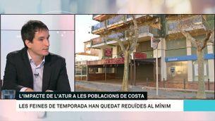 L'hivern més dur a les poblacions de costa catalanes