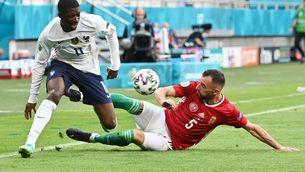 Dembélé es lesiona amb França