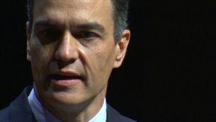 Pedro Sánchez anuncia els indults als presos polítics en un acte al Liceu