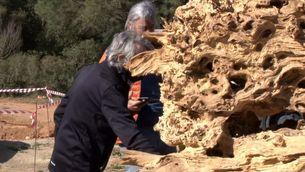 La cripta d'Enric Pladevall a la Fundació L'Olivar