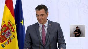 Sánchez pressiona Aragonès perquè vagi a la conferència de presidents, on es parlarà dels ajuts europeus