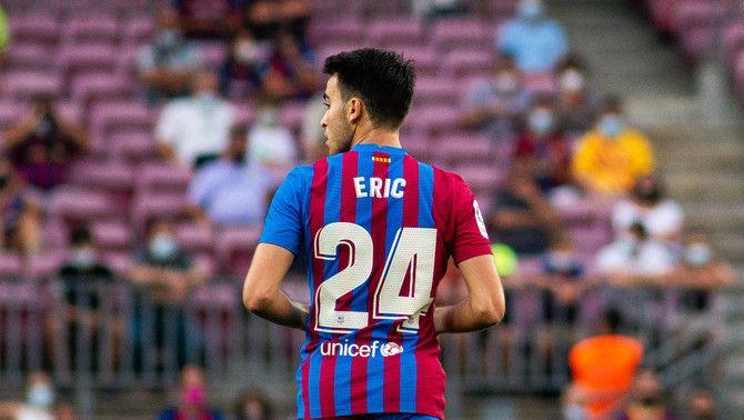 Eric Garcia, exigent: 'Toca millorar i ho faré'