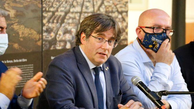 Carles Puigdemont acusa l'estat espanyol de coordinar i inspirar la seva detenció a Itàlia