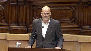 Raül Romeva ha defensat la resolució independentista per part de Junts pel Sí