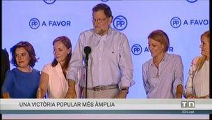 El PP guanya amb més escons i el PSOE aguanta en el segon lloc