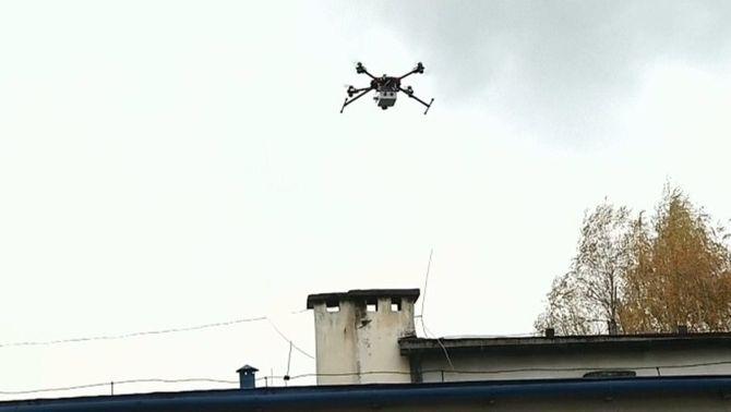 Drons per mesurar la contaminació a Polònia