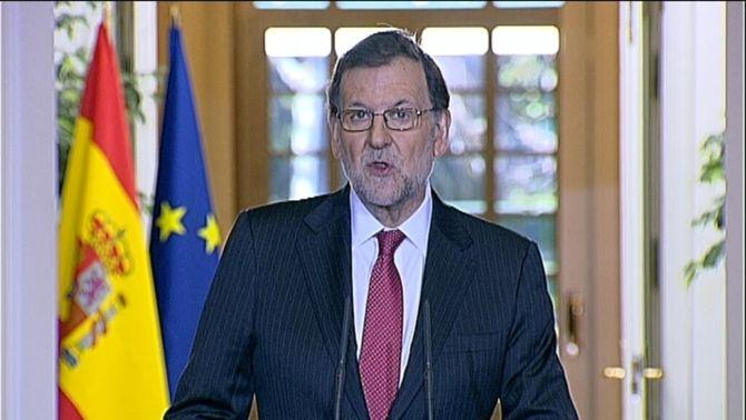 """Mariano Rajoy: """"El 2016 podem definir-lo com l'any de la incertesa"""""""
