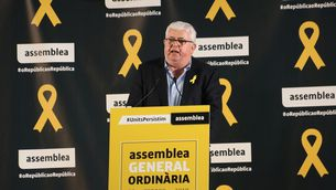 El vicepresident de l'ANC, Agustí Alvoberro, el 25 de febrer (ACN)
