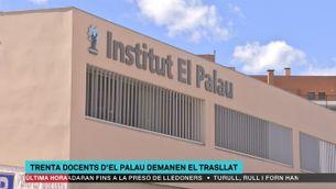 30 professors de l'IES El Palau, de Sant Andreu de la Barca, volen canviar de centre
