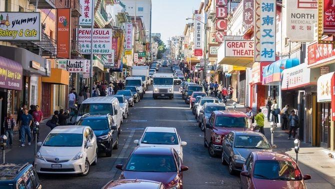 Les empreses de VTC com Uber han empitjorat el trànsit a San Francisco
