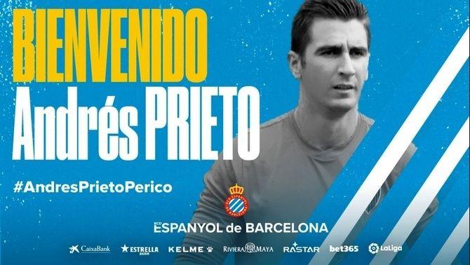 Andrés Prieto torna a l'Espanyol