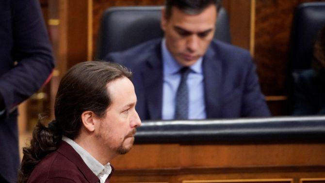 Sánchez i Iglesias es troben en una reunió no prevista a la Moncloa
