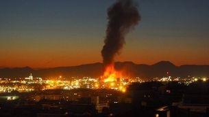 Greu explosió a la petroquímica de Tarragona