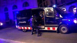 Debat sobre la gestió de l'ordre públic a Catalunya