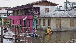 El fenomen climàtic la Niña provoca rècords de pluja a l'Amazònia, amb vastes inundacions