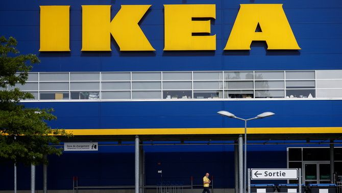 Una botiga d'Ikea prop de Rennes