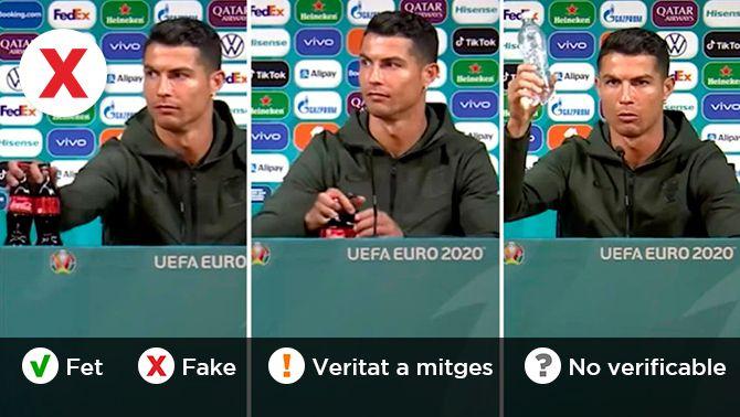No, Coca-Cola no ha perdut diners per culpa del gest de Cristiano Ronaldo