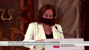 Ada Colau és escollida vicepresidenta de la xarxa mundial de ciutats contra el canvi climàtic