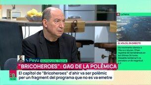 """El gag de la polèmica de """"Bricoheroes"""": la resposta de Vicent Sanchis i la rèplica d'en Peyu"""