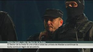 """Euromaidan diu """"no"""" a l'acord"""