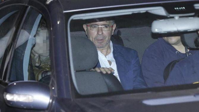Francisco Granados sortint del jutjat d'instrucció de Majadahonda (EFE)