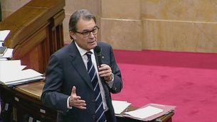 Les reaccions al discurs de Rajoy des del Parlament