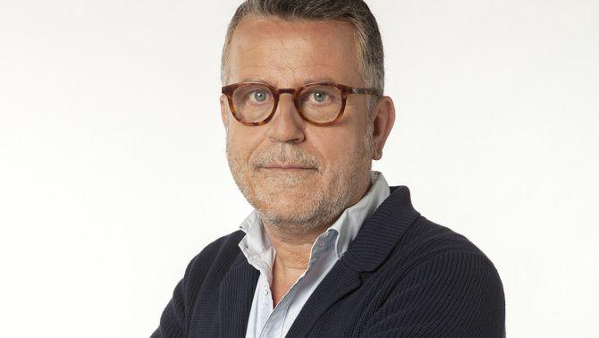 """Lluís Canut, director i conductor d'""""Efectivament""""."""