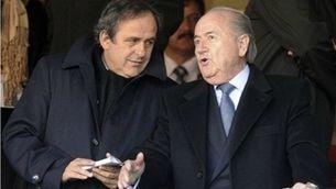 Platini i Blatter