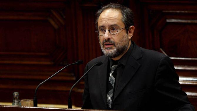 El diputat dimissionari de la CUP, Antonio Baños (EFE)