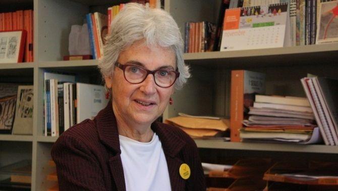 Muriel Casals va morir diumenge després de dues setmanes ingressada per un atropellament