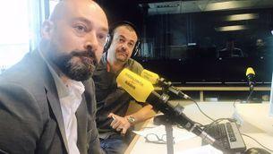 Saül Gordillo i Santi Faro valorant les audiències de l'EGM