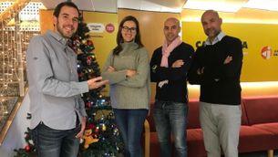 David Clupés i l'equip d'excampions olímpics que correrà la Zúrich Marató de Barcelona per recaptar fons pel Casal dels Infants