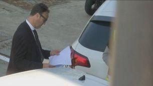 """""""Els Mossos no van fer res"""", diu el comissari Quintela, de la Policia Nacional"""
