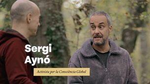 """Sergi Aynó: """"Hem d'anar a la natura a recordar els codis que hi ha, per poder generar i crear una nova humanitat"""""""