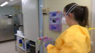 L'Hospital de Bellvitge analitza diàriament entre 1.500 i 2.300 mostres de PCR que arriben dels CAP de l'area Metropolitana Sud