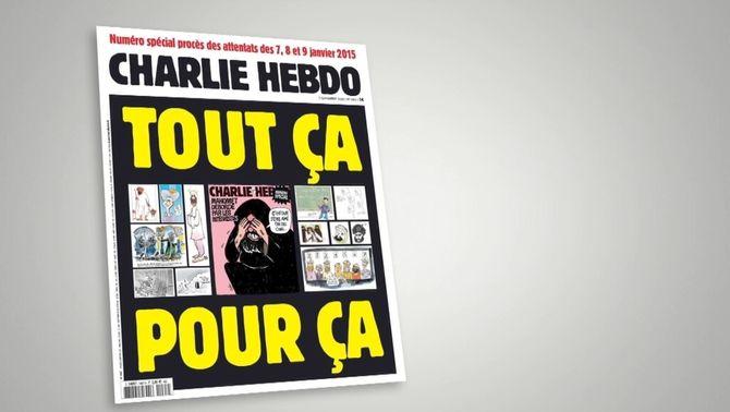 Charlie Hebdo torna a publicar les caricatures de Mahoma pel judici de l'atemptat