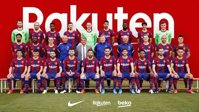 El Barça es fa la foto oficial de la temporada amb Joan Laporta