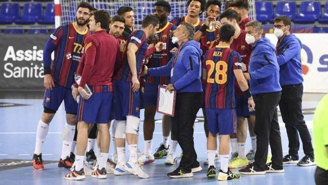 EN DIRECTE  El Barça busca l'onzena Lliga consecutiva contra el Puente Genil , per Esport3