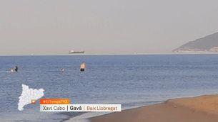 """El fenomen del """"vaixell volador"""" a Gavà"""